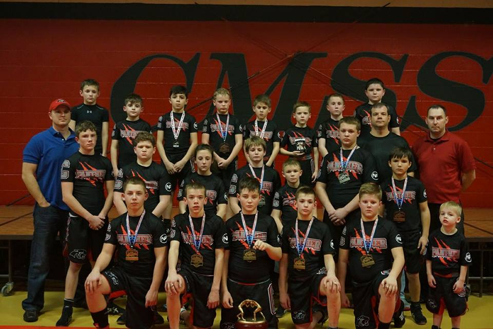 2016 to 2017 Wrestlers - Arkansas Youth State Team Champions Small Division