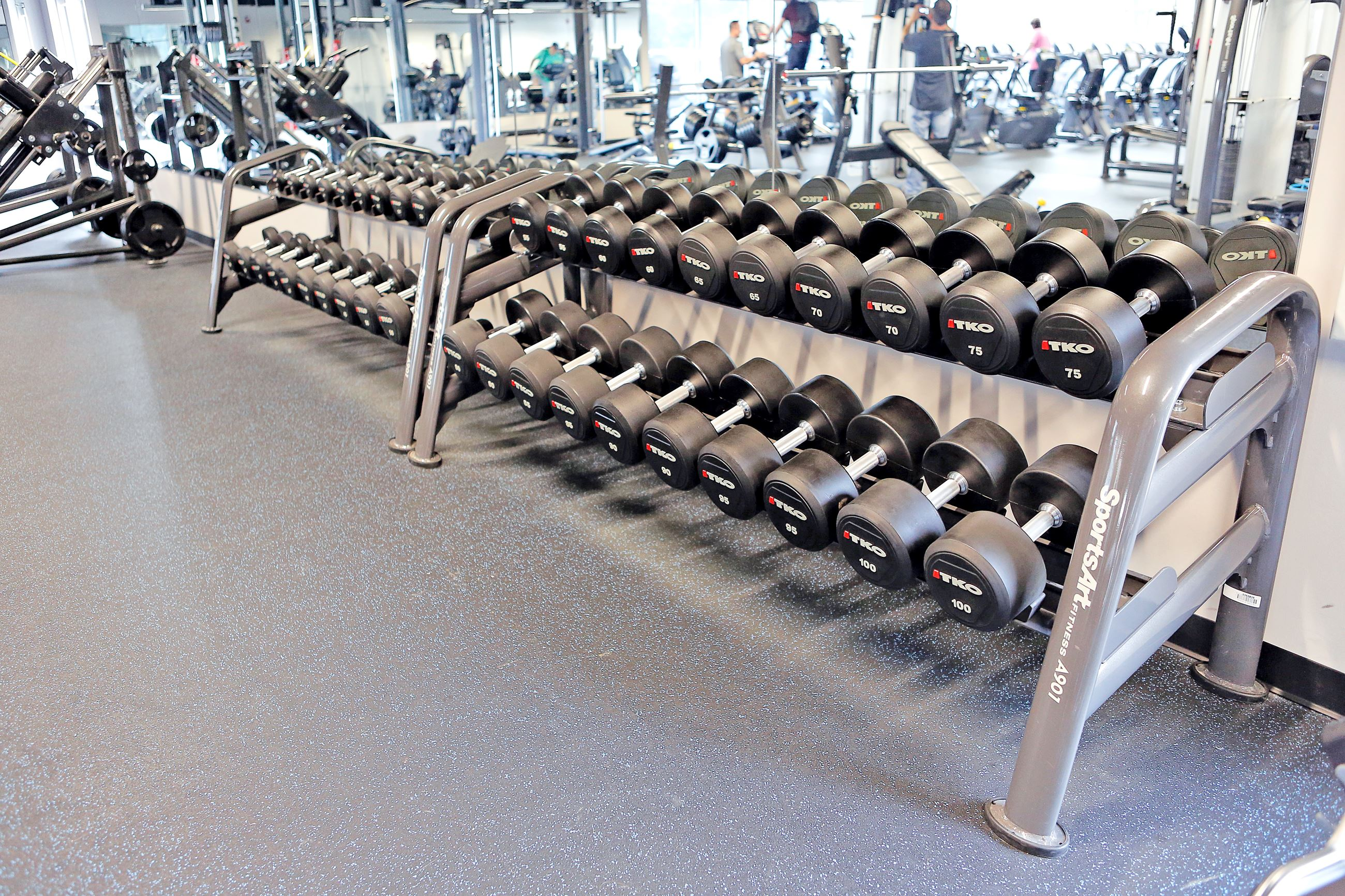 Veterans Park Community Center Fitness Center Free Weights