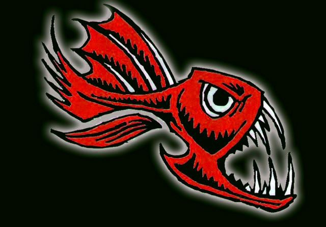Cabot Piranhas Swim Team Logo