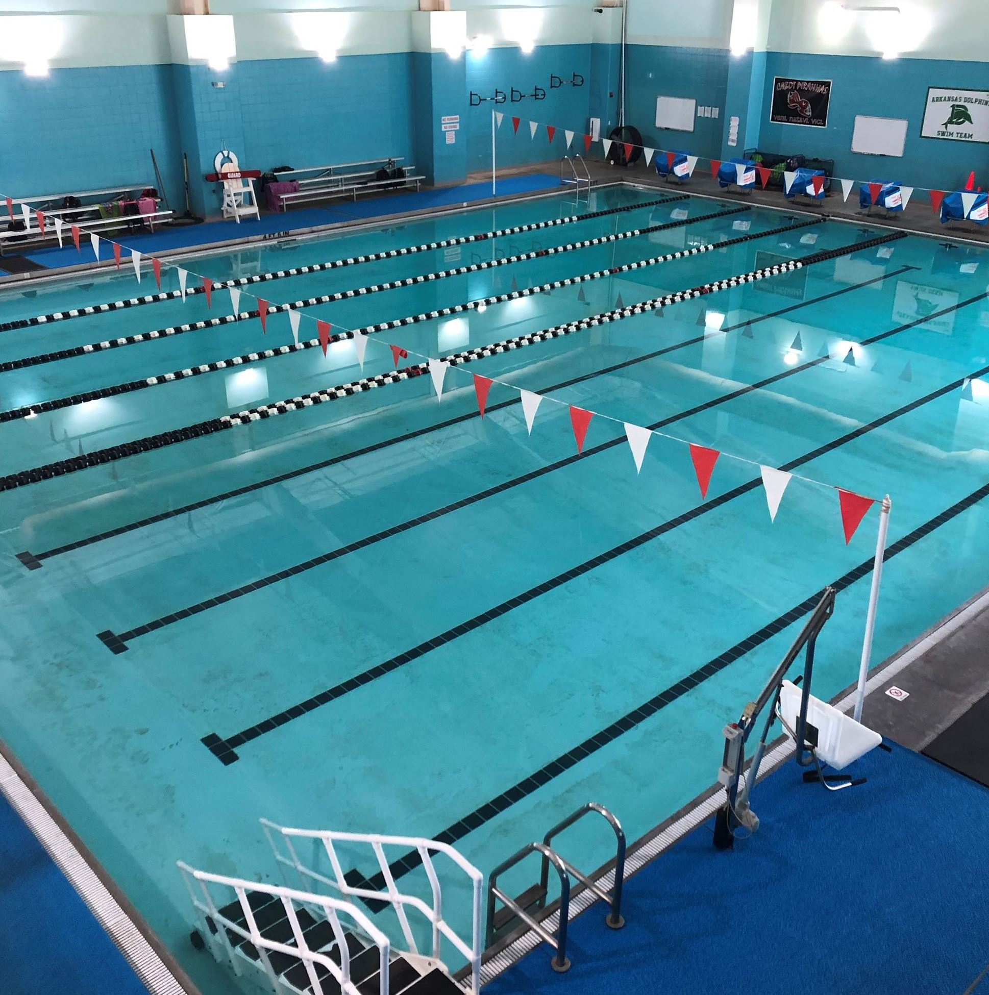 Veterans Park Community Center Indoor Pool